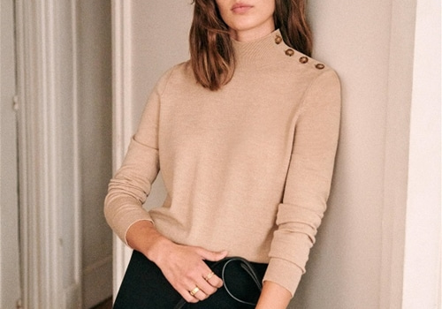 [Sezane]Jacob sweaterv_camel