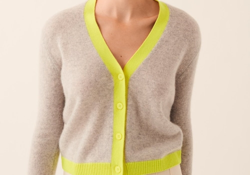 [FROM FUTURE]Dual-Tone Short Cardigan_light grey