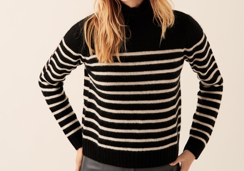 [FROM FUTURE]Mock-Neck Breton Pullover_BLACK
