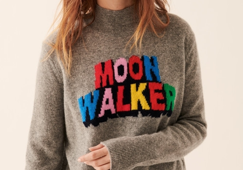 [FROM FUTURE]Moon Walker Oversized Mock-Neck_GREY