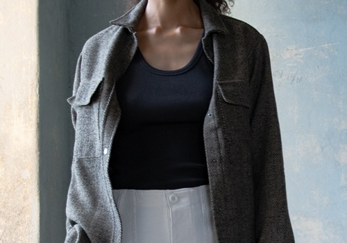[RAGDOLL L.A] WOOL SHIRT JACKET